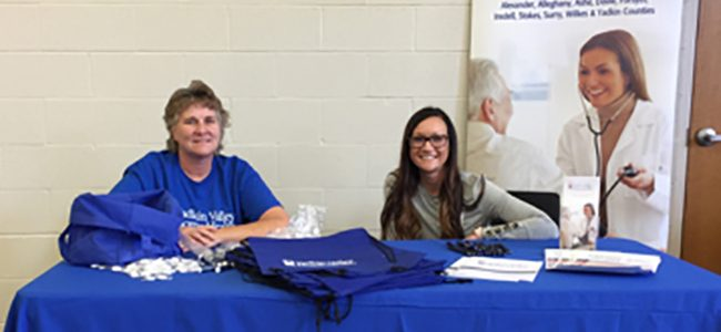 Home Health Participates in Yadkin Senior Fun Day