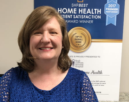 Yadkin Valley Home Health Employee of the Month