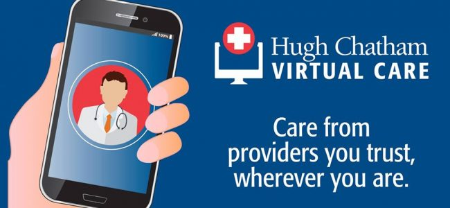 Hugh Chatham Memorial Hospital Provides Virtual Care for Community
